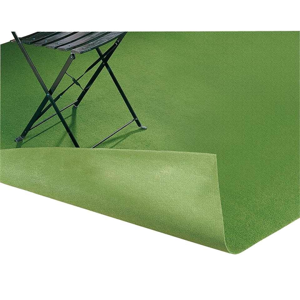 Genoeg Grastapijt Savanne - groen - 133x400 cm UU78