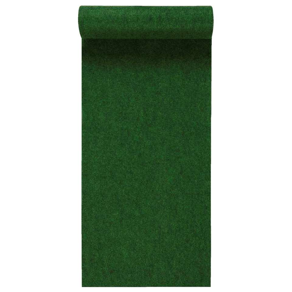 Grastapijt Savanne – groen – 200×400 cm – Leen Bakker