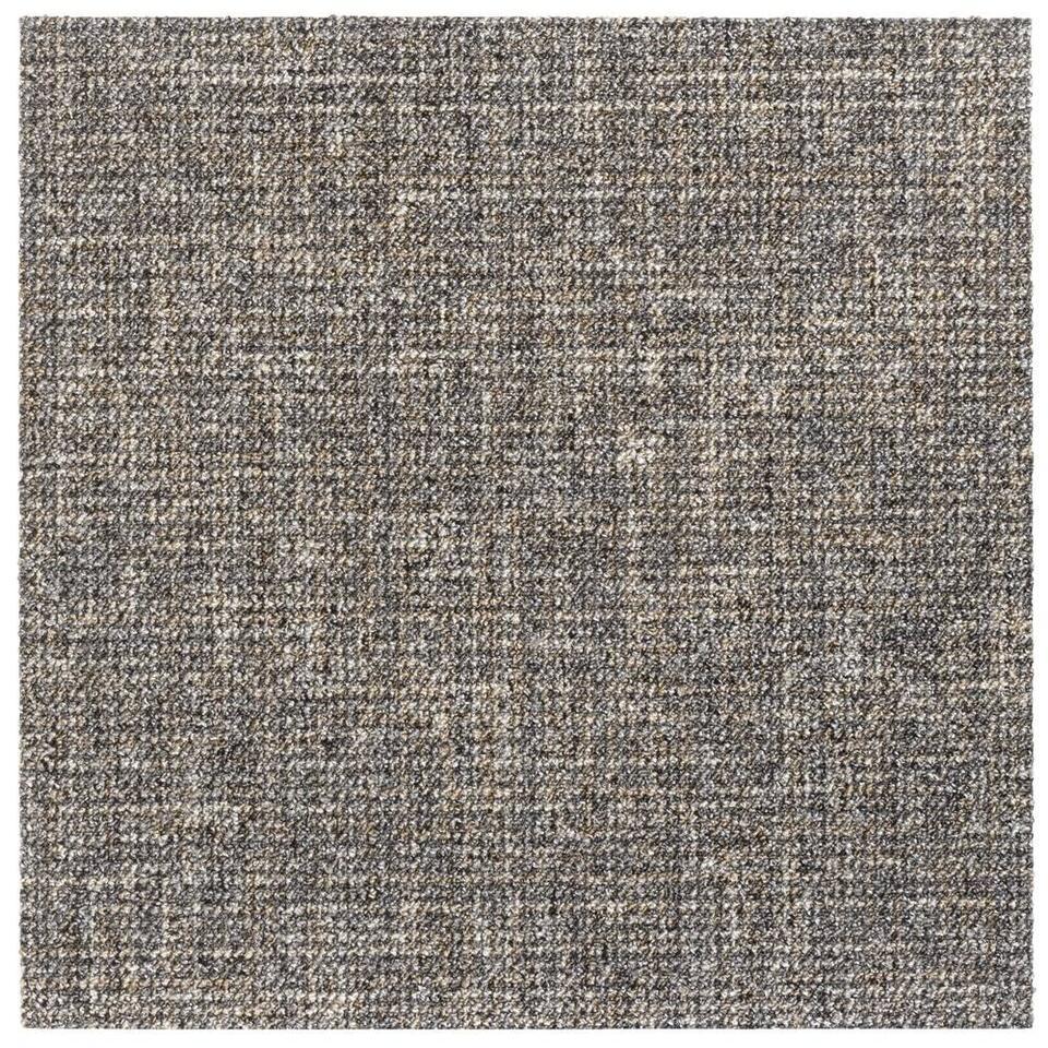 Tapijttegel Craft - bruin - 50x50 cm - Leen Bakker