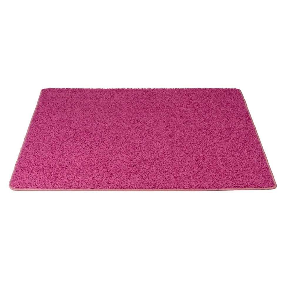 roze vloerkleed leenbakker