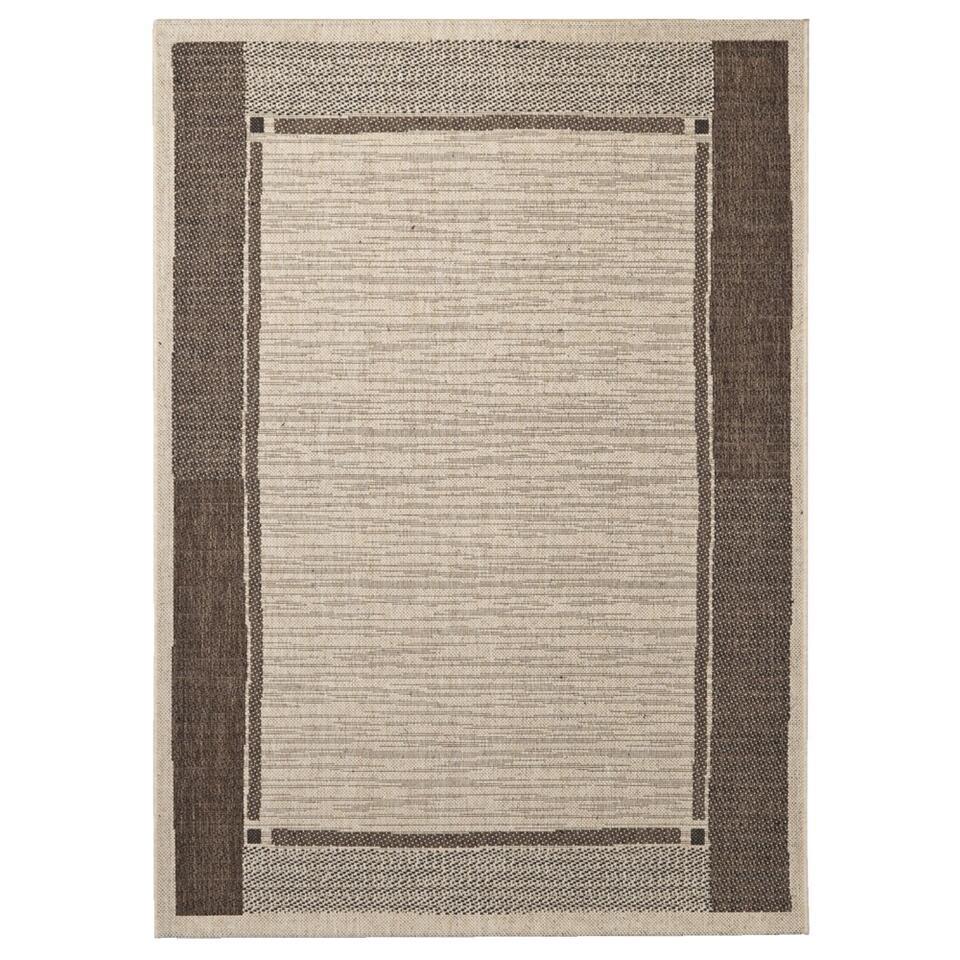 Vloerkleed Kerala is een retro kleed in bruintinten. Het karpet heeft een afmeting van 120x170 cm en is gemaakt van 100% polypropyleen. Vloerkleed Kerala is verkrijgbaar in meerdere kleuren.