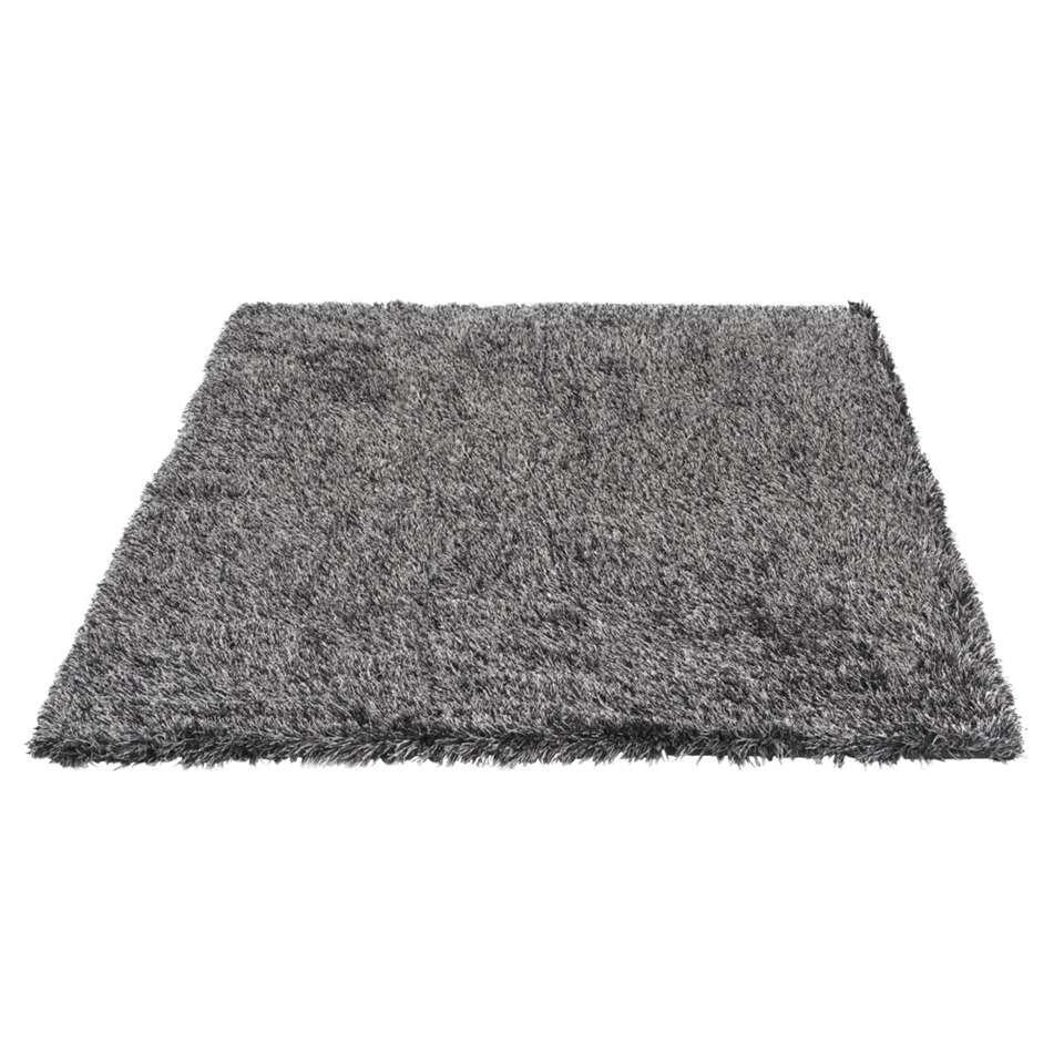 Vloerkleed New York - zwart/grijs - 160x230 cm - Leen Bakker