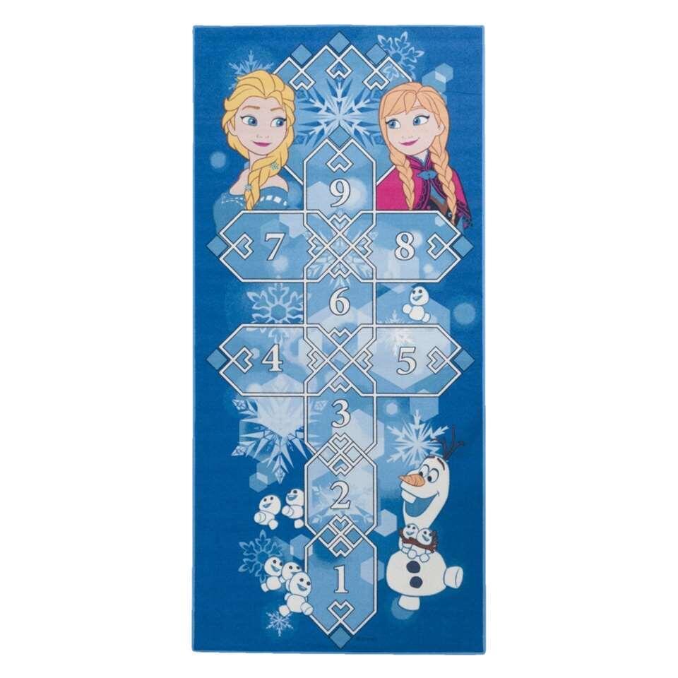 Hinkelkleed Frozen blauw 95x200 cm Leen Bakker