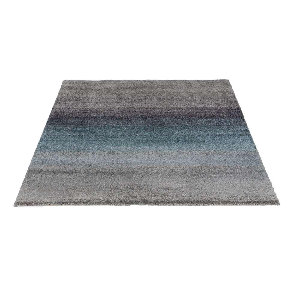 Vloerkleed Richness - grijs/blauw - 160x230 cm