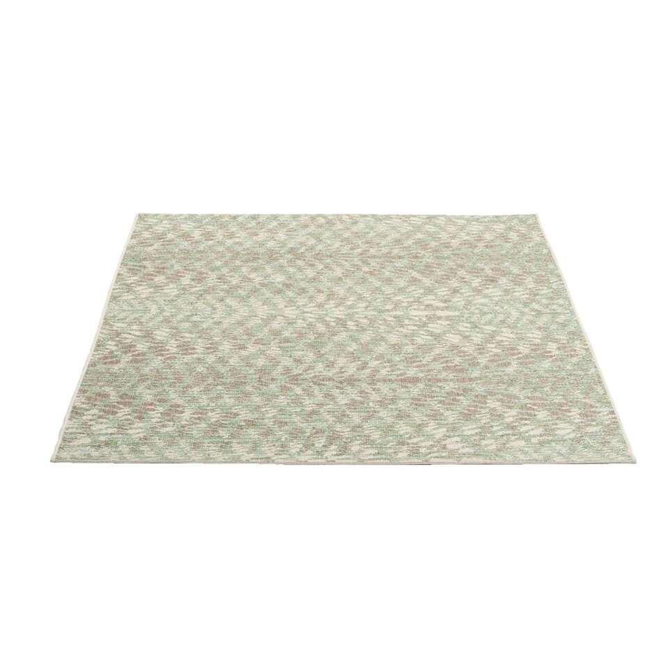 Vloerkleed Breeze - groen - 160x230 cm