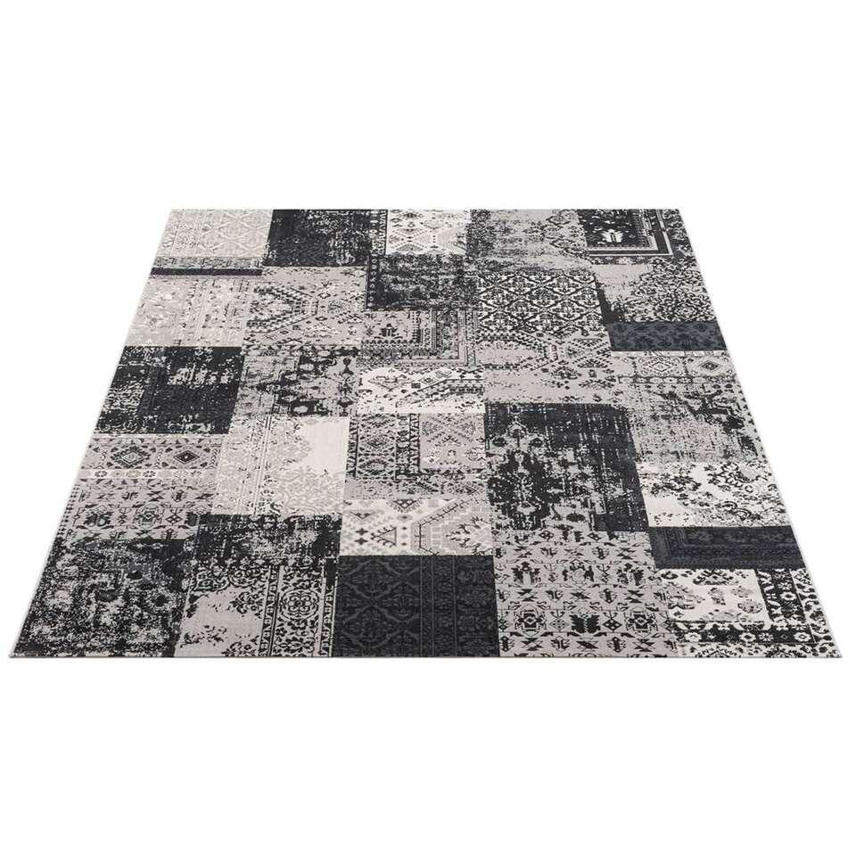 Vloerkleed Victory - grijs - 240x340 cm