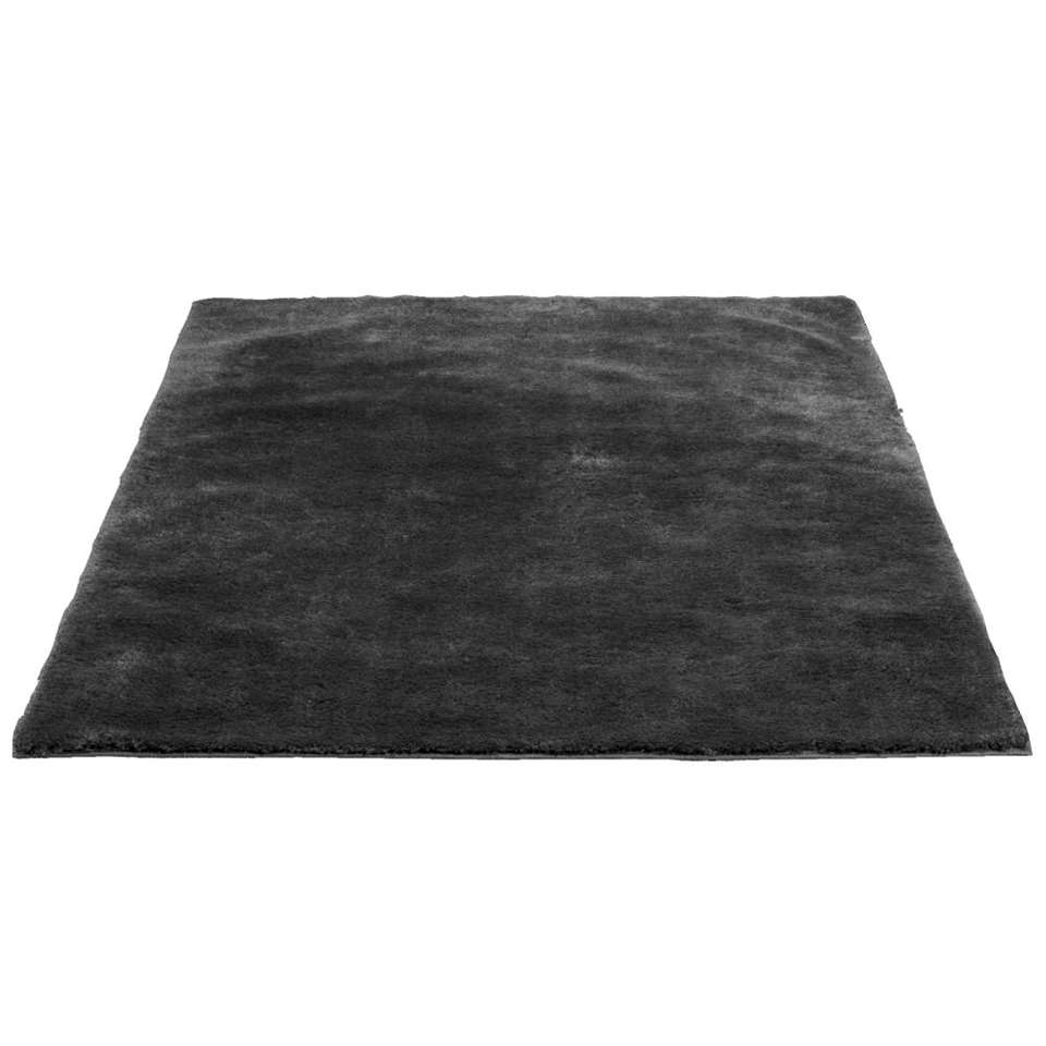 Vloerkleed Tessa - donkergrijs - 160x230 cm