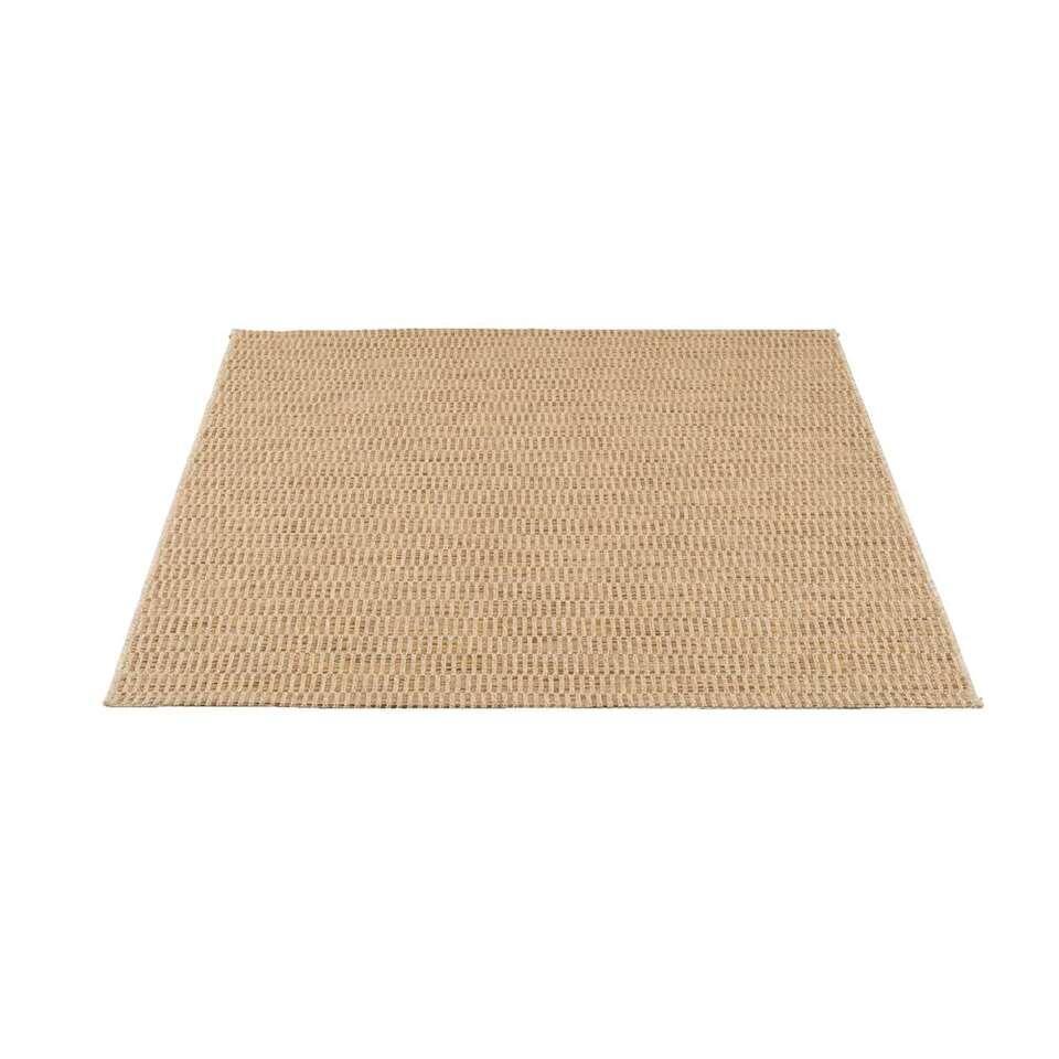 Vloerkleed Indy - naturel - 160x230 cm - Leen Bakker
