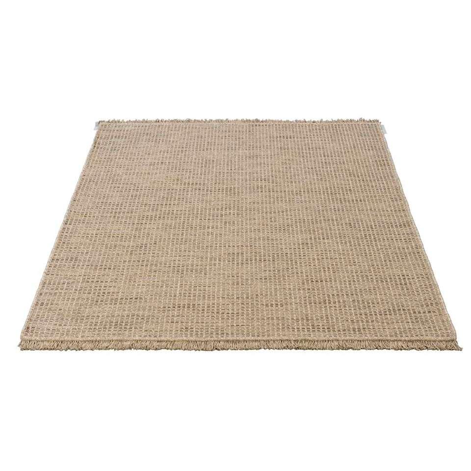Vloerkleed Indy - zandkleur - 160x230 cm - Leen Bakker