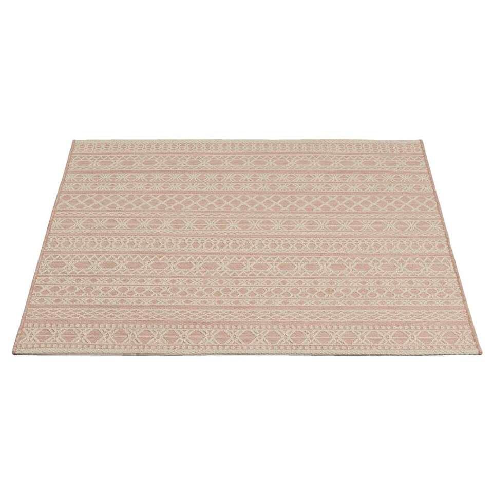 Vloerkleed Jersey - blush - 116x170 cm - Leen Bakker