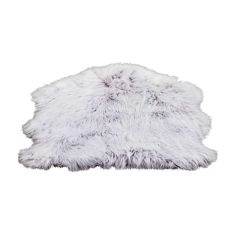 Vloerkleed Yeti - bruin - 60x90 cm