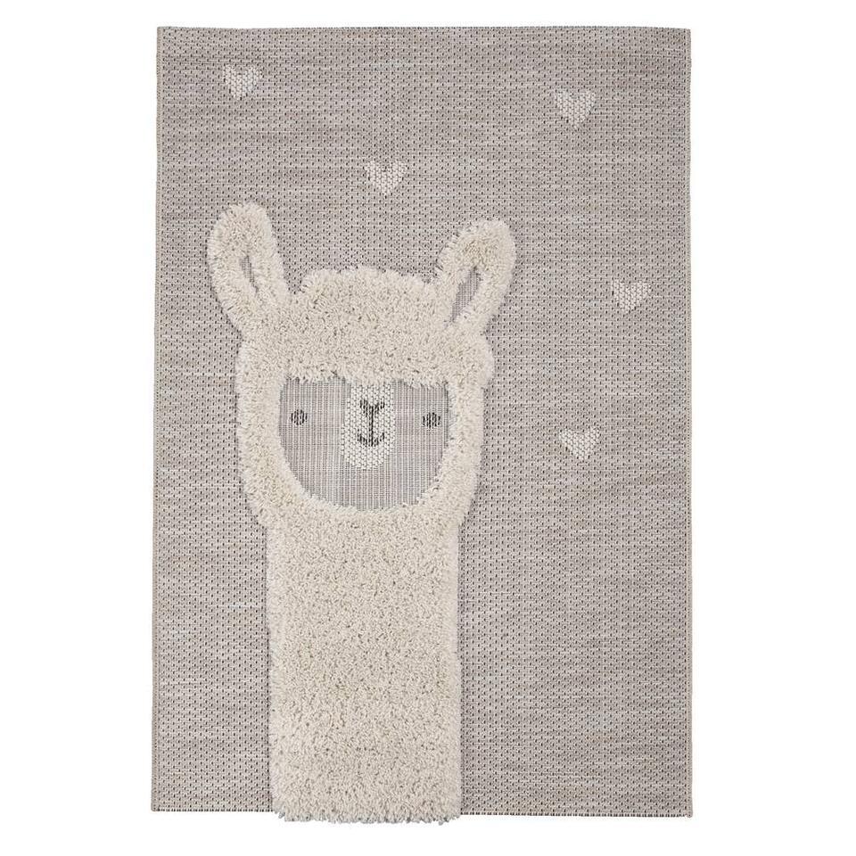 Vloerkleed Lama – 116×170 cm – Leen Bakker