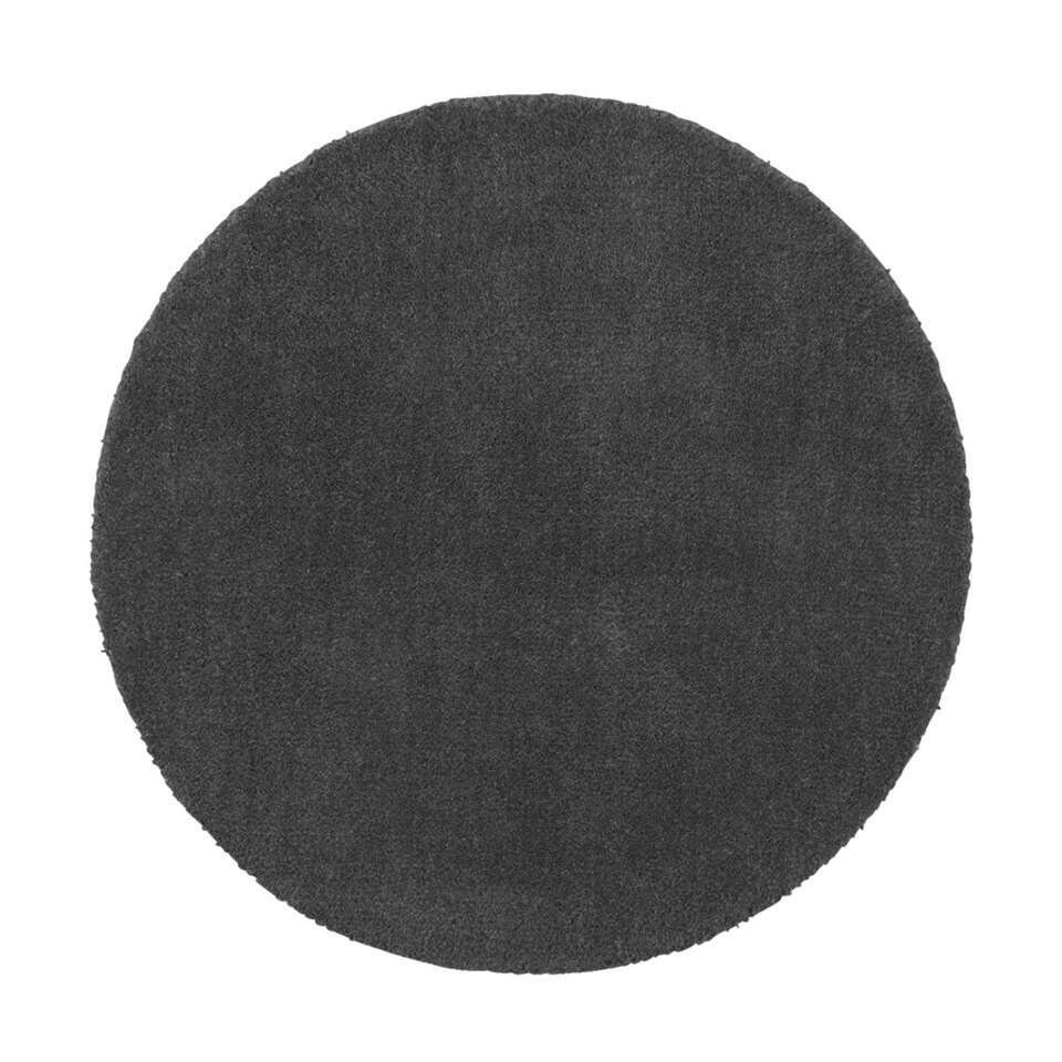 Vloerkleed Colours is een modern grijs karpet met een diameter van 68 cm. Vloerkleed Colours is er in vele vrolijke kleurtjes. Leg dit kleed voor je bed, zo heb je altijd warme voeten.