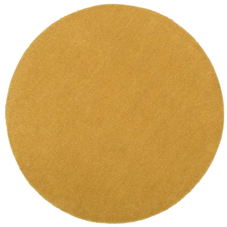 Vloerkleed Colours - oker - 68 cm
