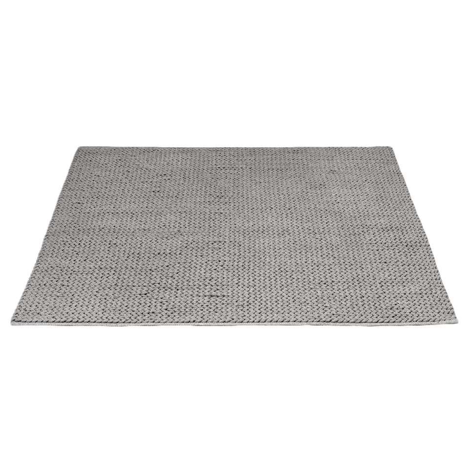 Vloerkleed Rodeo - grijs - 160x230 cm - Leen Bakker