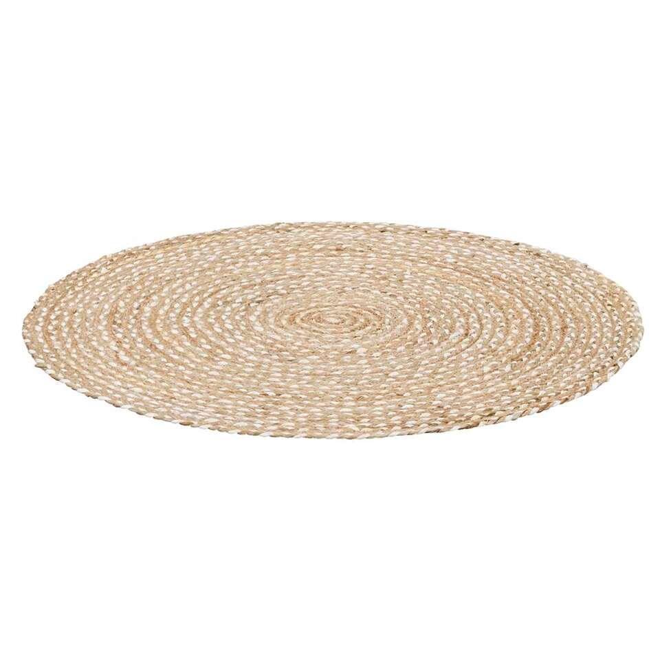Vloerkleed Madras - naturel - 100 cm