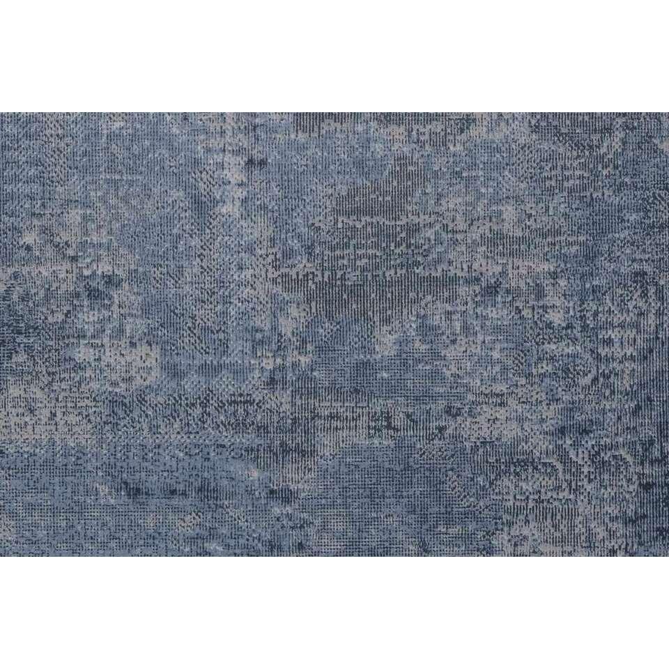 Vinyl Rug Blauw Denim
