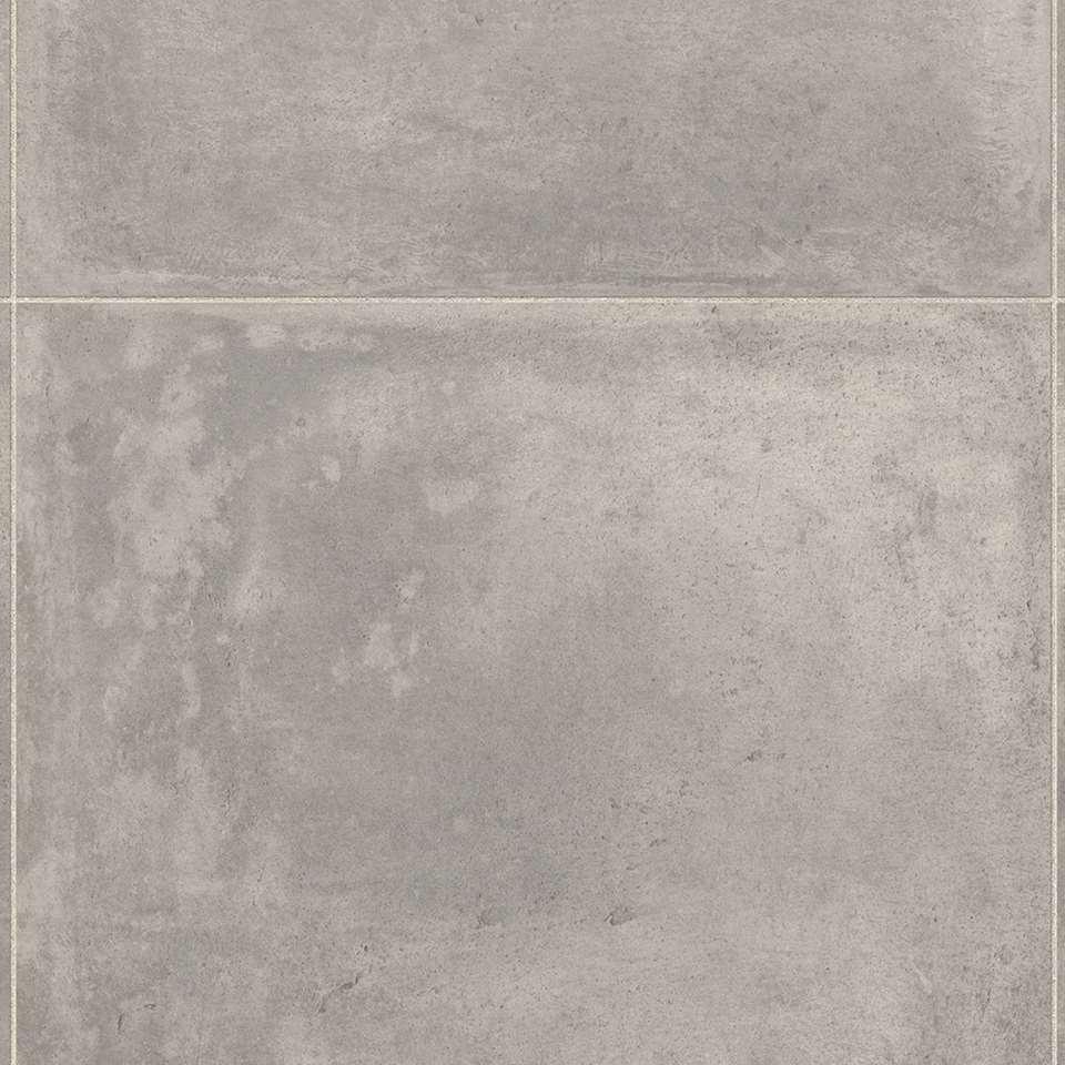 Vinyl Stoneland Burton - grijs - Leen Bakker