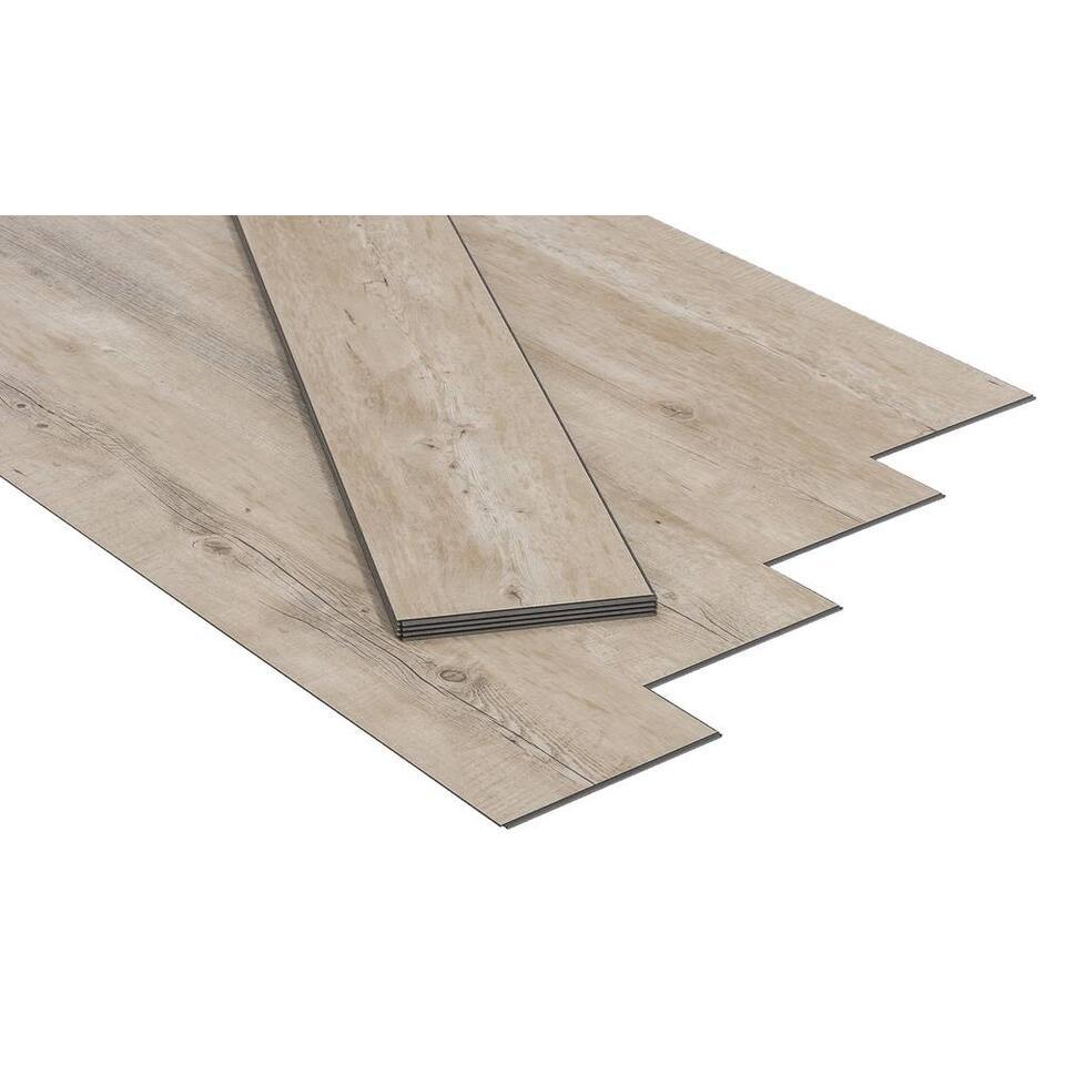 PVC vloer Senso Clic Pecan Nature Leen Bakker