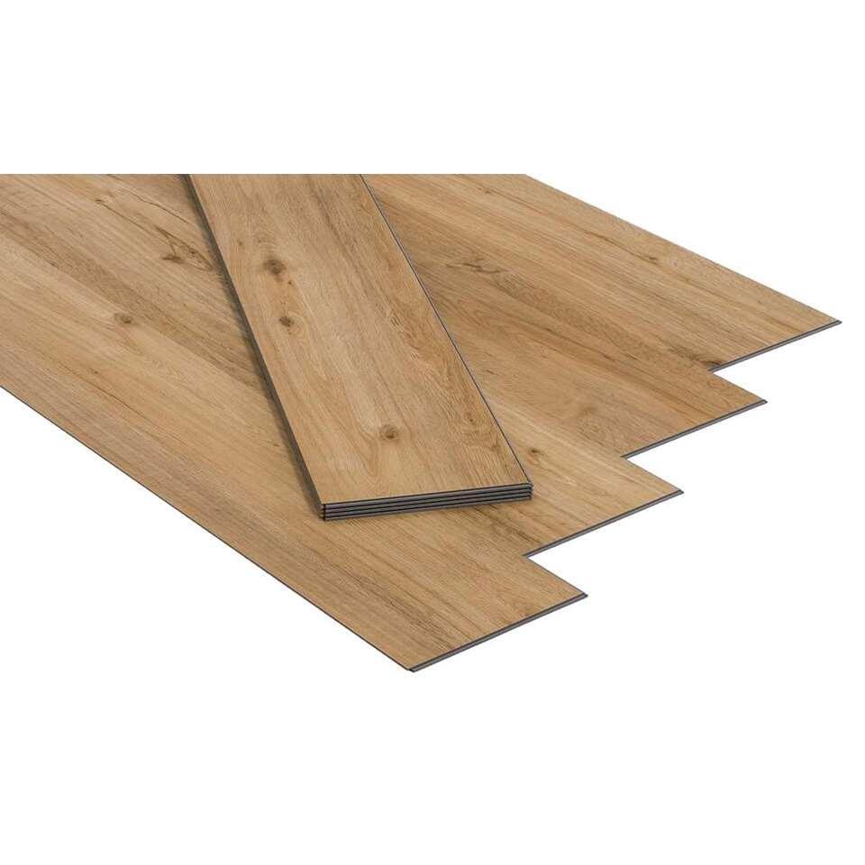 PVC vloer Senso Clic - Columbia Taupe - Leen Bakker