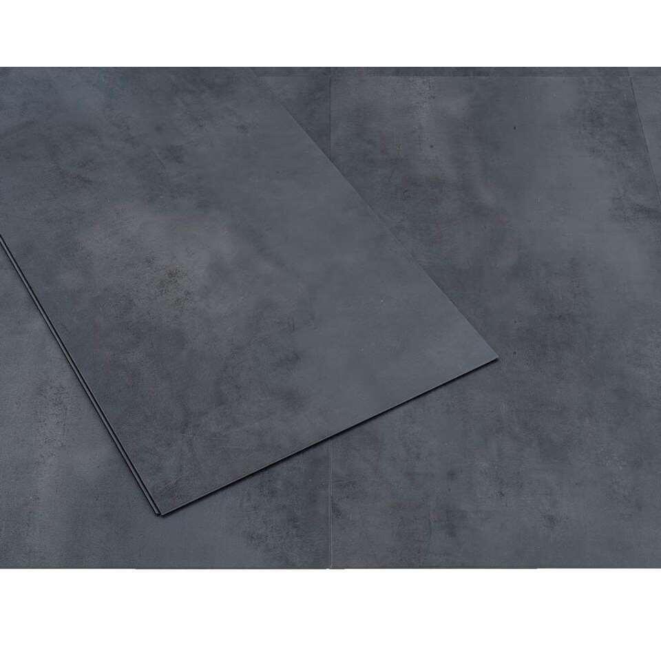 PVC tegel Senso Clic - Streety Dark - 2,28 m2 - Leen Bakker