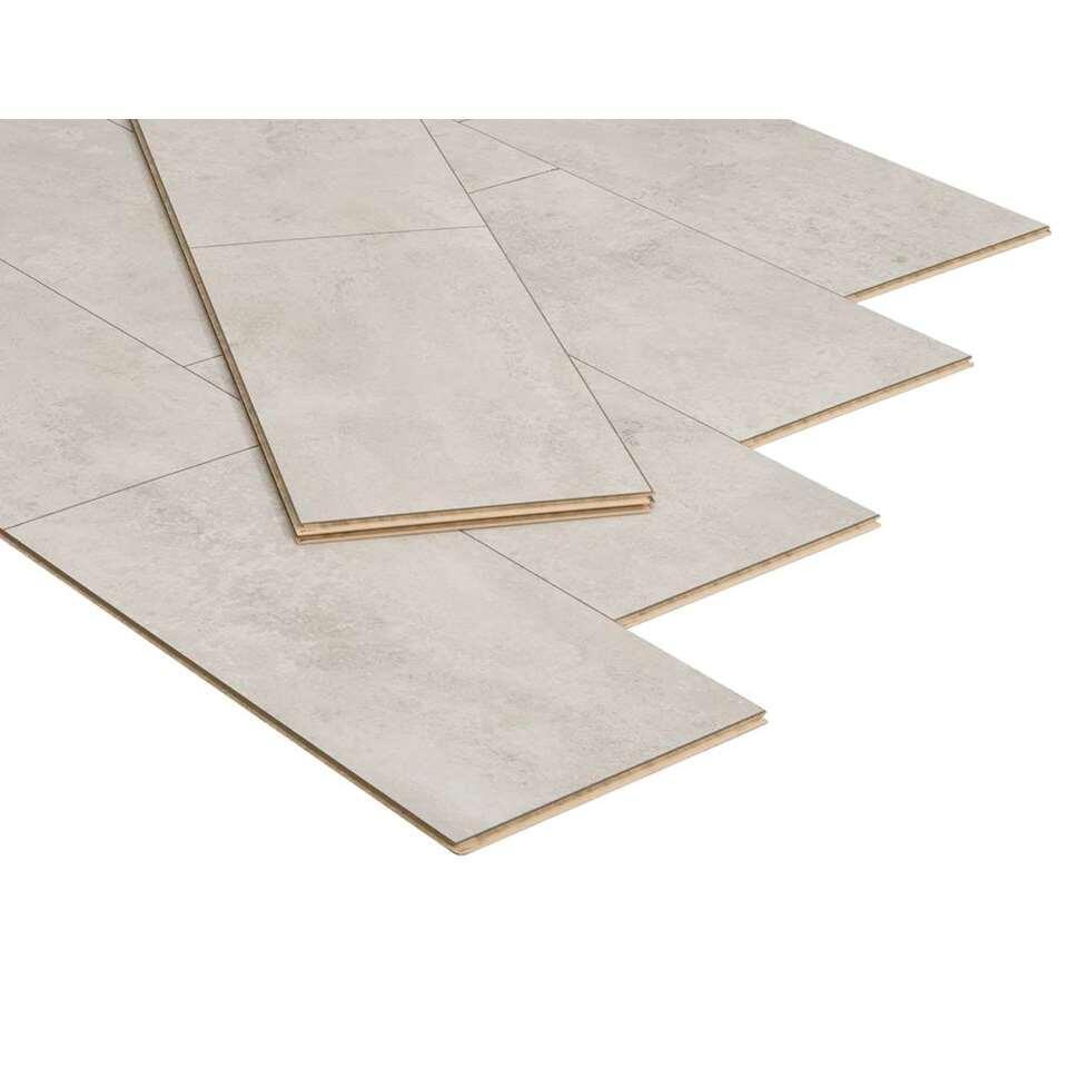 Aggloméré stratifié Stone-Slate - couleur de craie