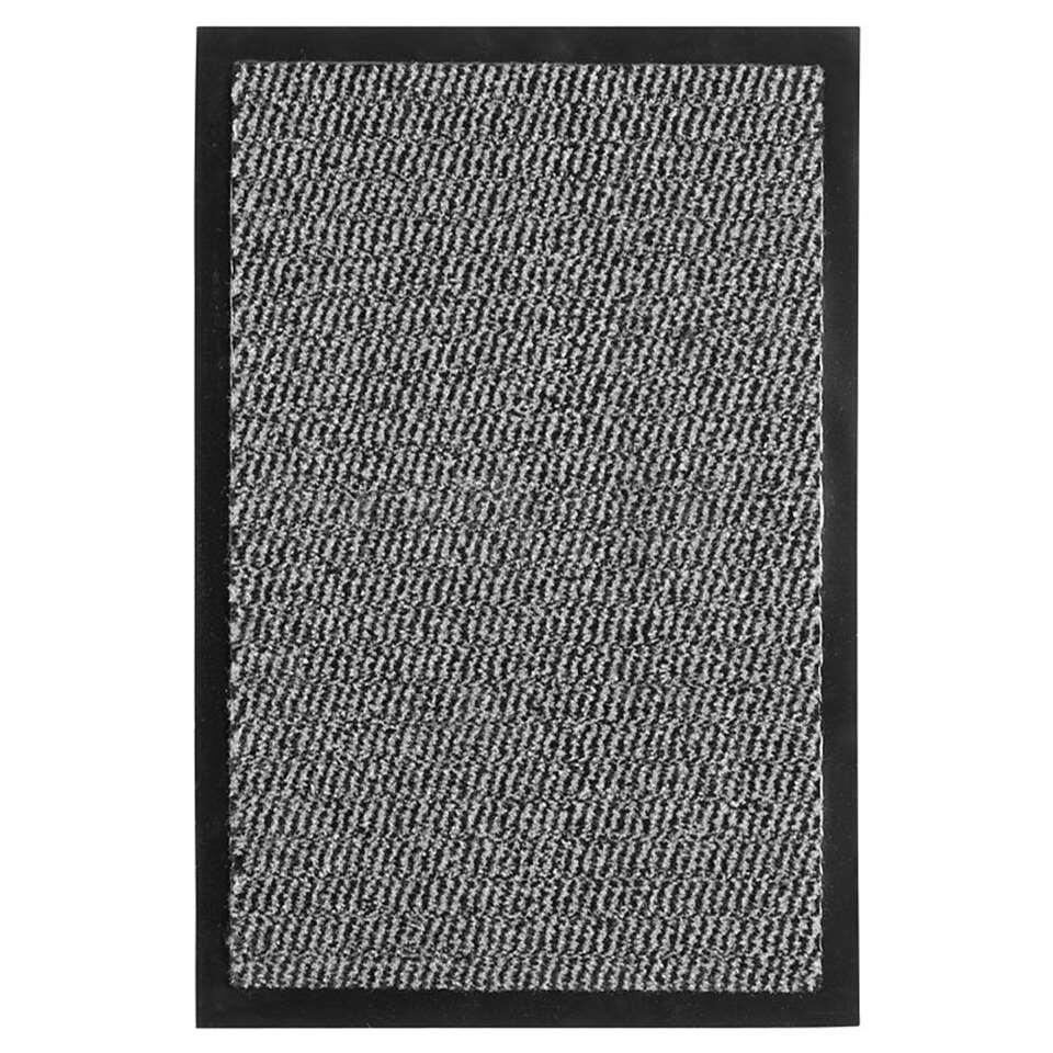 Mat Paris - antraciet - 60x80 cm - Leen Bakker