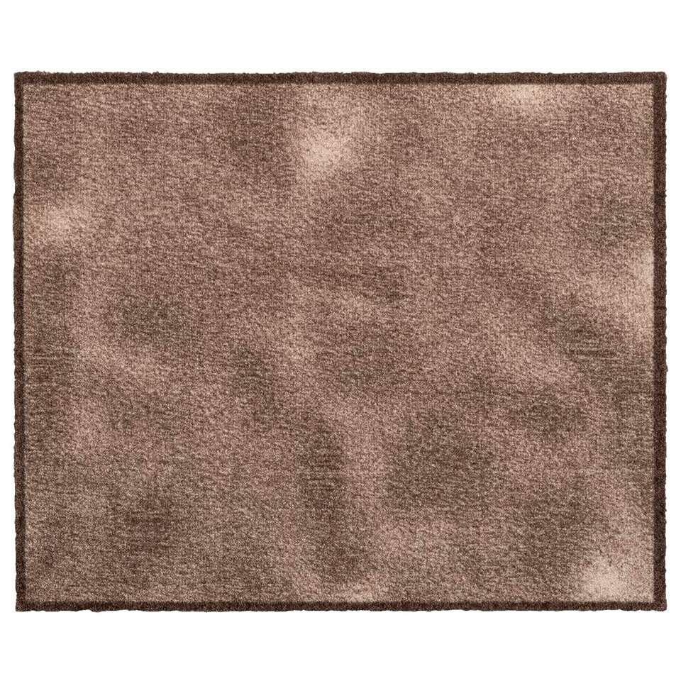 Mat Walk&Wash Shades – beige – 67×80 cm – Leen Bakker
