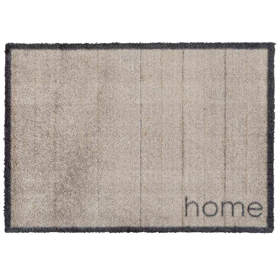 Mat Rustic Home - taupe - 50x70 cm