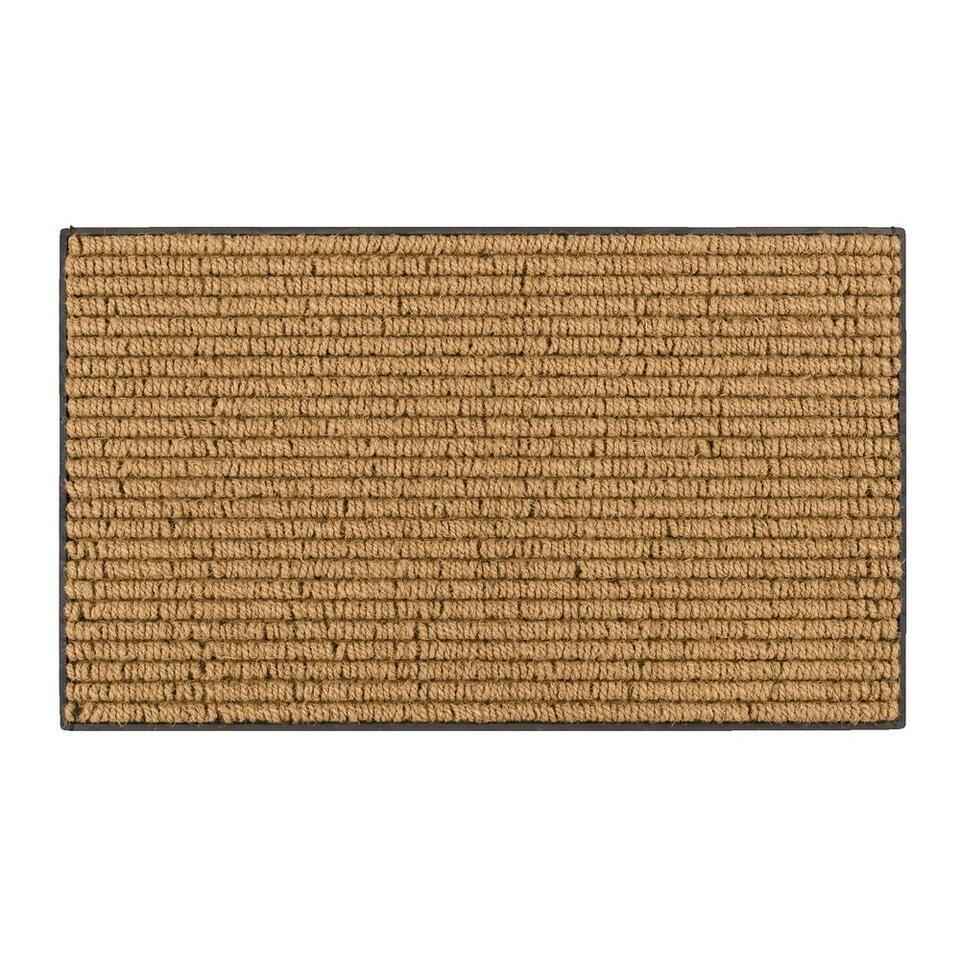 Mat Maison - naturel - 45x75 cm - Leen Bakker