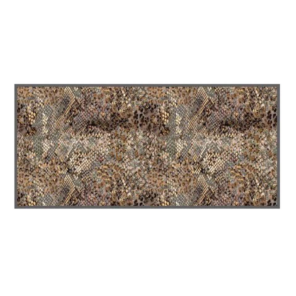 Mat Universal Snake - bruin - 67x150 cm