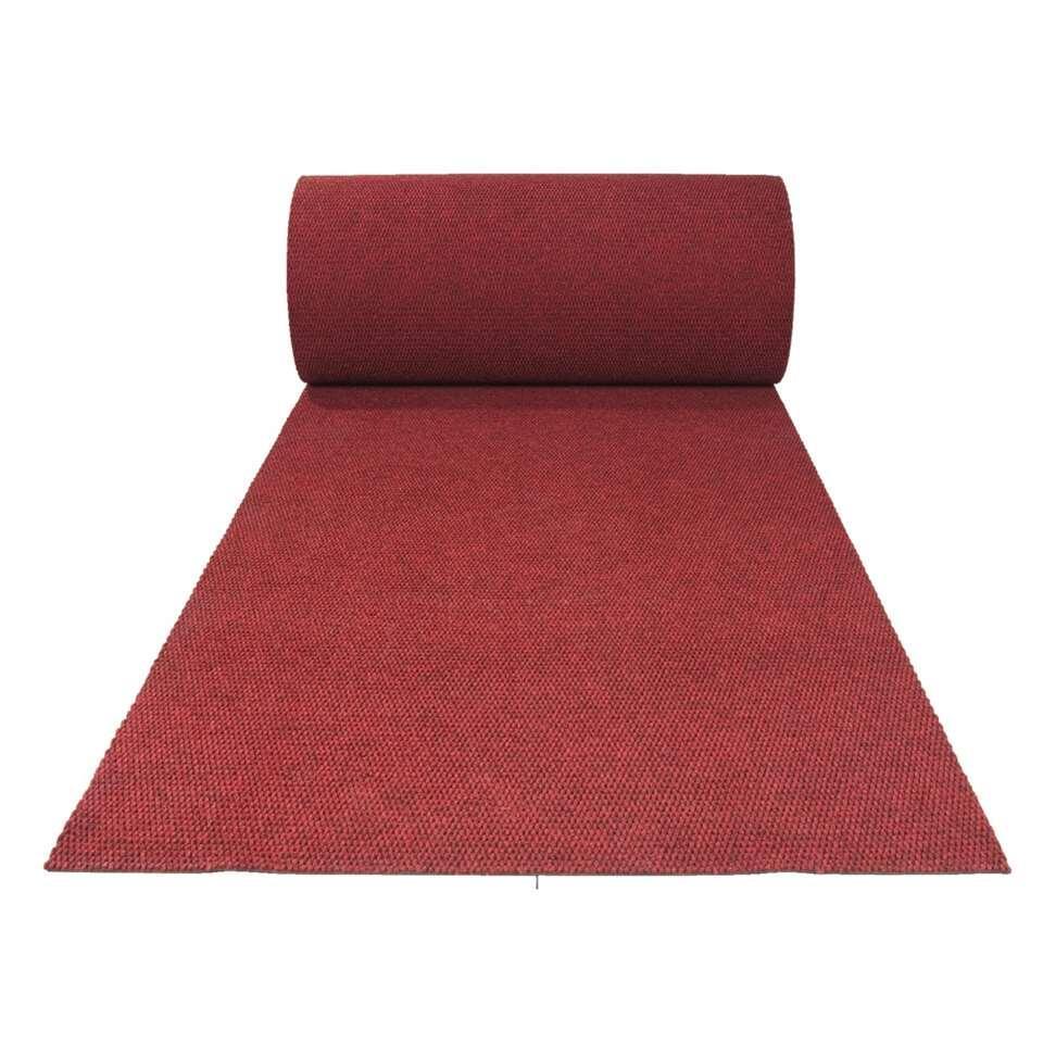 Loper Parijs - rood - 100 cm