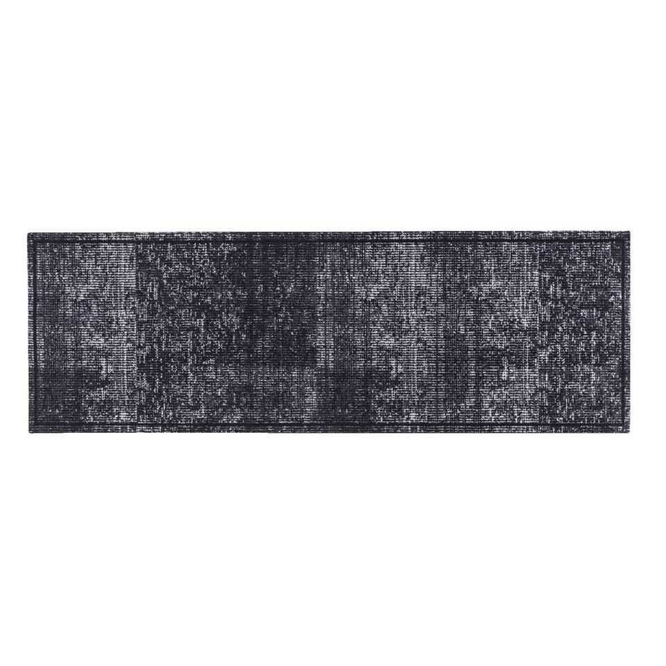 Keukenloper Velvet Anthra 50x150 cm - Leen Bakker