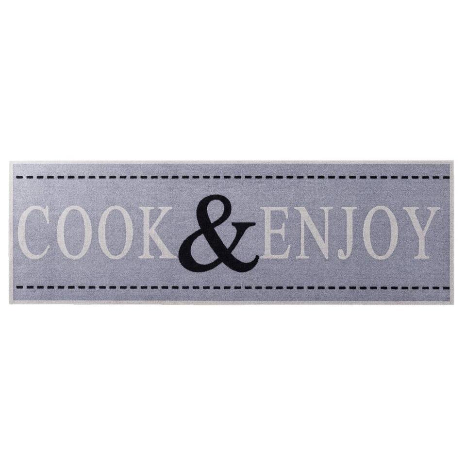 Keukenloper Cook & Enjoy - 50x150 cm - Leen Bakker