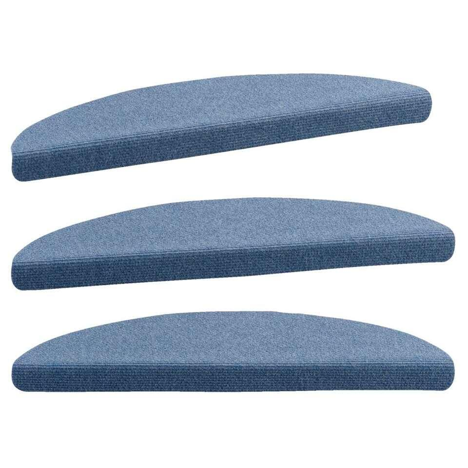 Trapmat Ecostep - blauw (16 stuks) - Leen Bakker