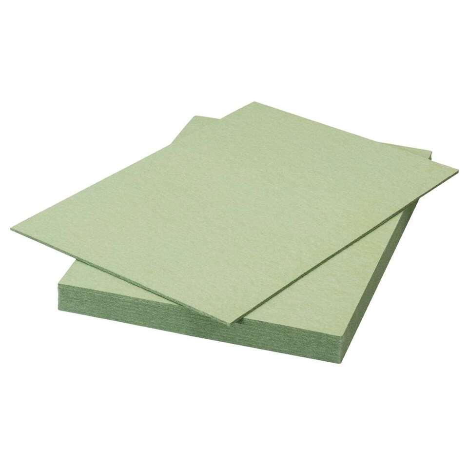 Ondervloer Calypso - zachtboard - groen - 7,52 m2