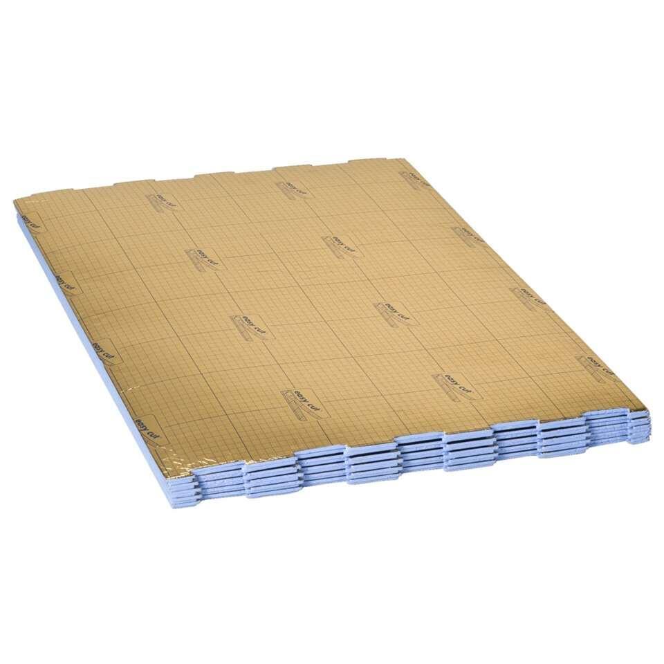 Ondervloer Isotac bestaat uit vouwplaten die eenvoudig zijn te leggen. De ondervloer vermindert loopgeluid in de ruimte en de ruimte eronder en voldoet hierdoor aan de geluidsnormering voor appartementen.