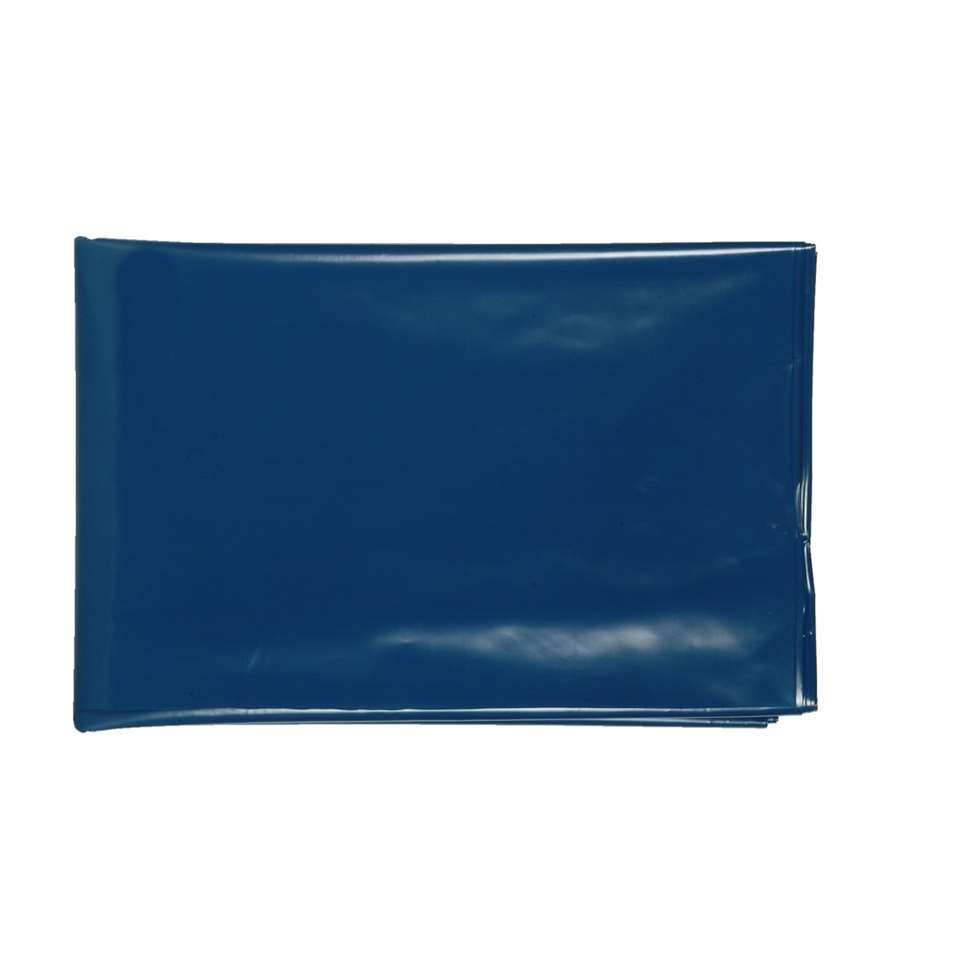 Dampdichte folie - blauw - Leen Bakker
