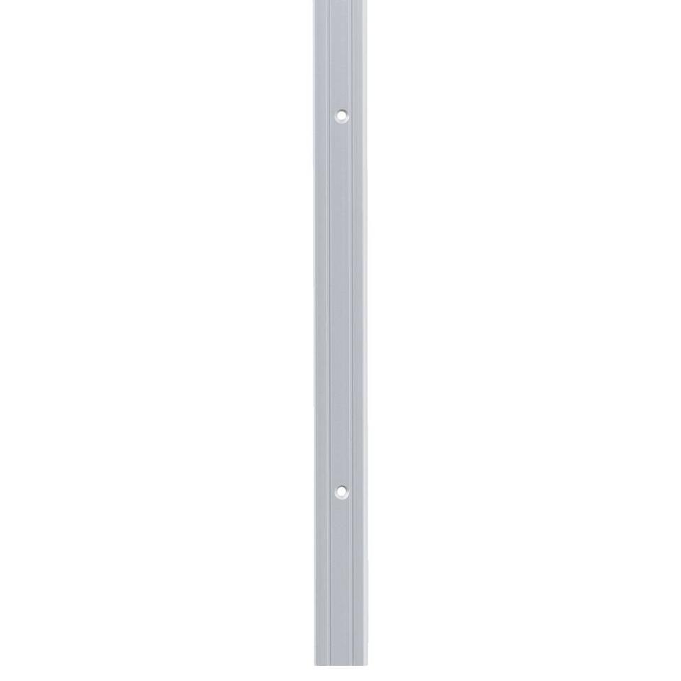 Hoekprofiel 24,5x10 mm - grijs - 100 cm