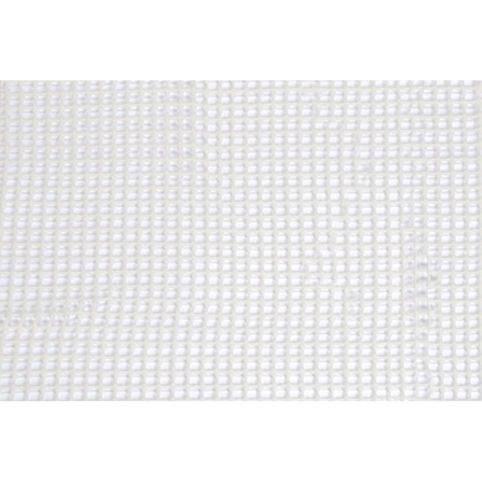 Anti-slip ondertapijt - wit - 110x180 cm
