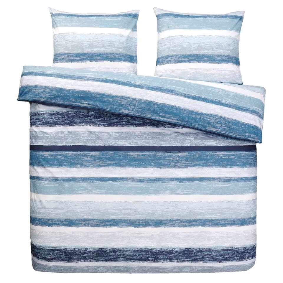 Dream dekbedovertrek Matthew - blauw - 240x200 cm - Leen Bakker