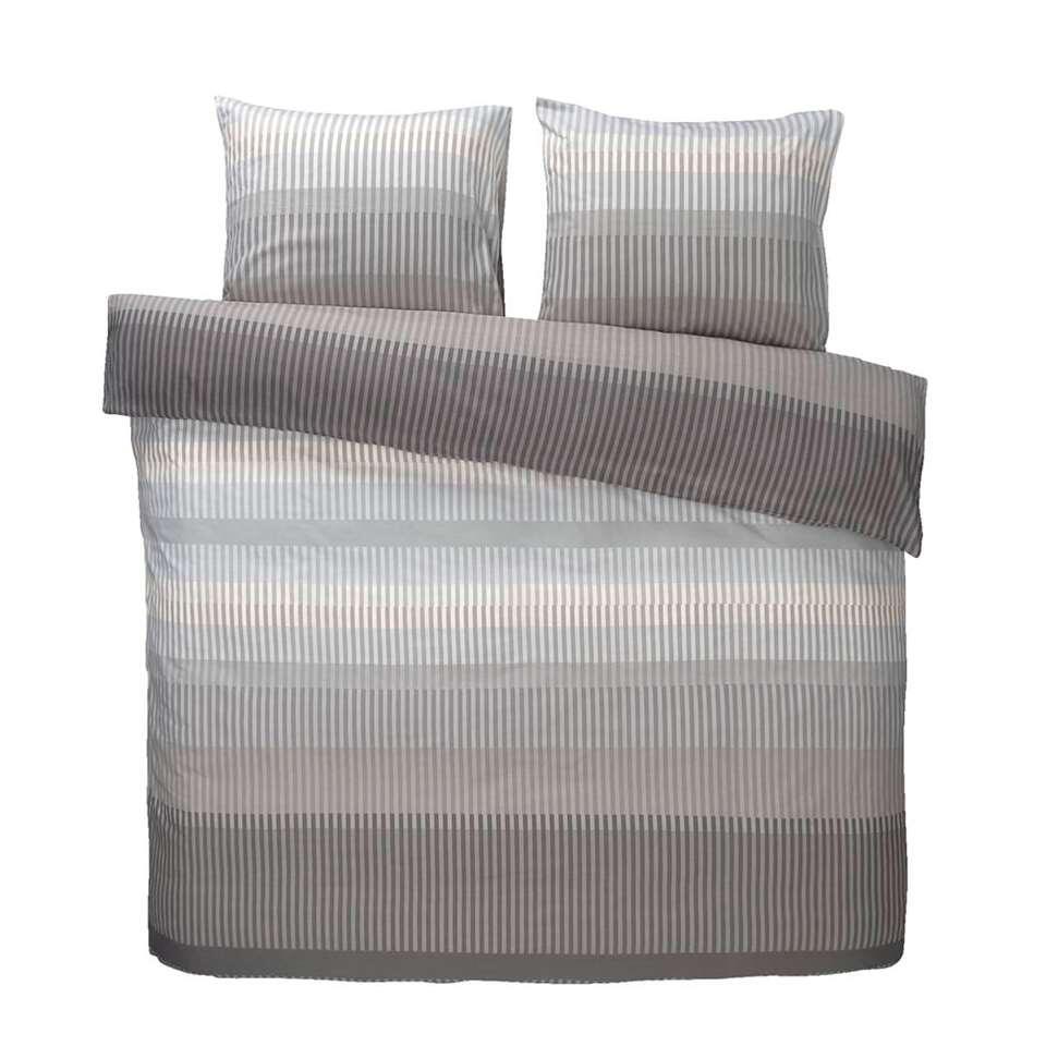 Comfort parure de couette Kasper - grise - 240x200/220 cm