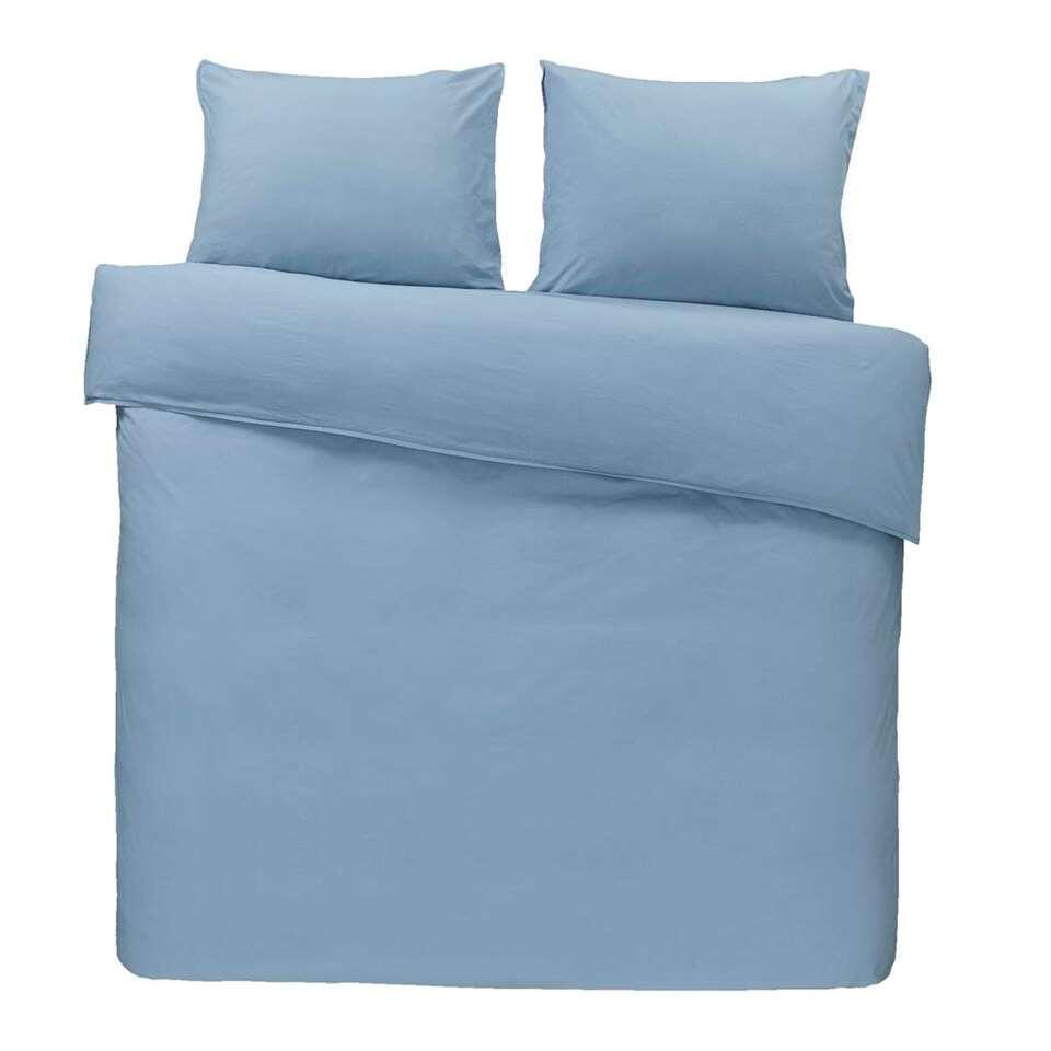 Dream dekbedovertrek Ryan - blauw - 240x200/220 cm - Leen Bakker