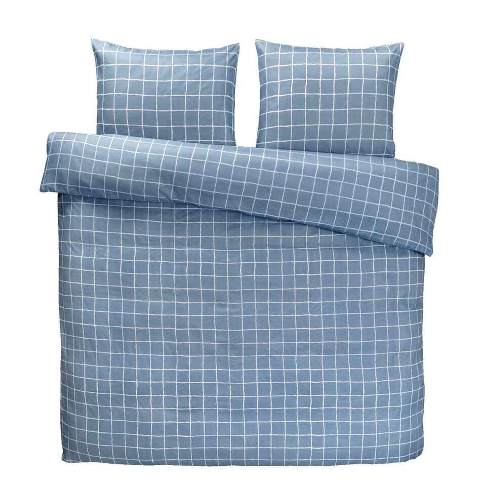Dekbedovertrek Cooper - blauw - 200x200 cm