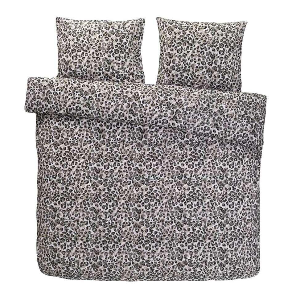 Comfort dekbedovertrek Bagheera - naturel - 240x200/220 cm - Leen Bakker