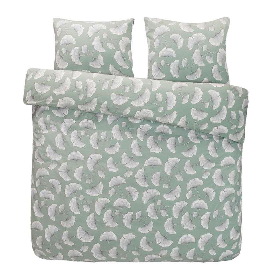 Comfort dekbedovertrek Indra - groen - 240x200 cm