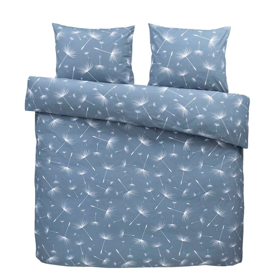 Comfort dekbedovertrek Myra - blauw - 240x200/220 cm