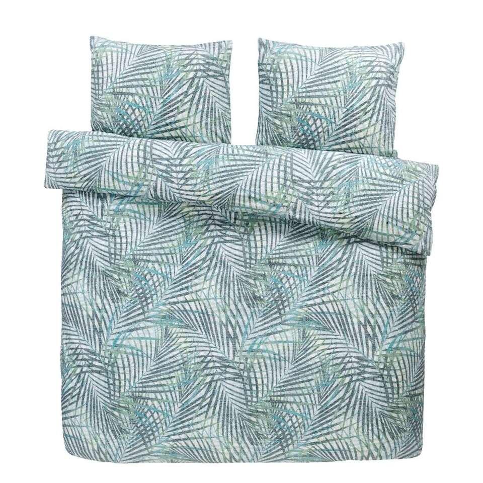 Comfort dekbedovertrek Damian - groen - 240x200/220 cm