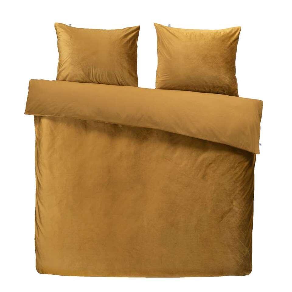 At Home by Beddinghouse dekbedovertrek Tender - goud - 240x220/220 cm