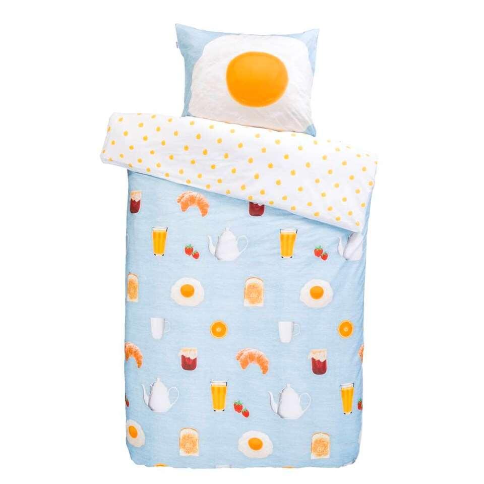 Covers & Co dekbedovertrek Sunny Side Up - multikleur - 200x220 cm - Leen Bakker